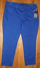 $110 NYDJ NOT YOUR DAUGHTER'S JEANS BLUEBELL ANKLE SKINNY JEANS SZ 16P