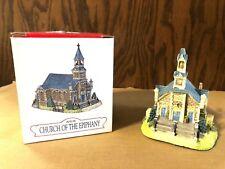 Liberty Falls Americana Collection Church Of The Epiphany #Ah134 Nib