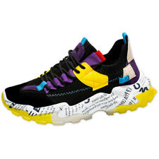 Men Casual Platform Dad Shoes Breathable Running Athletic Sneakers Trainer Shoes