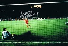 Signed Alan Kennedy Liverpool 1984 European Cup Final Autograph Photo Penalty