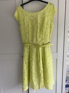 Principles By ben De lisi Dress Size 12 Lime Green