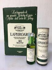 Mignon Miniature Confezione LAPHROAIG Single Islay Malt Scotch Whisky 5cl 43% Vo