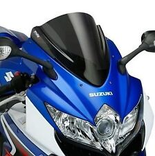 Puig Racing Windscreen 2008-2010 Suzuki GSXR600 GSXR750 Black
