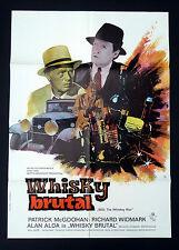 WHISKY BRUTAL * Richard Widmark - A1-FILMPOSTER - Ger 1-Sheet ´71 MOONSHINE WAR.