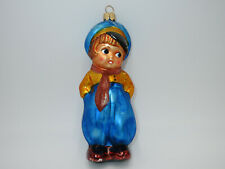 Christopher Radko Glass Christmas Ornament Laddie Dutch Boy Poland made