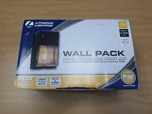 Lithonia OWP70S120PLPBZ 70W Watt HPS High Pressure Sodium Wall Pack Dusk To Dawn