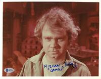 MICHAEL J. POLLARD SIGNED AUTOGRAPHED 8x10 PHOTO JAHN STAR TREK TOS BECKETT BAS