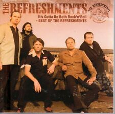 2 CD The Refreshments, It's Gotta Be Both Rock'n'Roll, Best of, Bonus Live, RAR