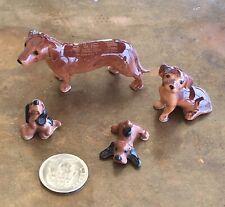 Hagen Renaker Miniature Dogs Dachshund & Hounds Mini