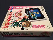 Game Boy Color Cardcaptor Sakura Japan Handheld Console New In Box