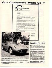 1960 DEVIN KIT CAR - RARE ORIGINAL PRINT AD