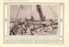 1915 French Naval Snipers Beached Trawler Yser Estuary Hill 60 Captured Mine Exp
