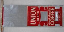 1930's~Union Coffee Bag~Mars & Co~Pittsburgh, PA