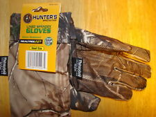 HUNTER'S SPECIALTIES THINSULATE LINED SPANDEX GLOVES RT AP SMALL SIZE