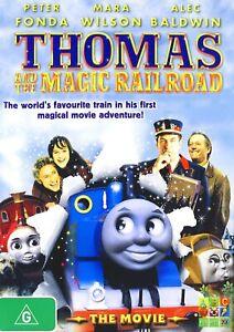 224A NEW SEALED THOMAS AND THE MAGIC RAILROAD DVD Region 4