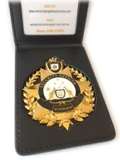 Security Badge & Wallet GOLD - 2021 Release - #0008 (NOT POLICE) - GET 10% OFF