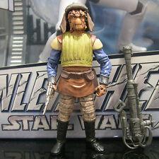 STAR WARS black series VIZAM gunner Jabba skiff guard ROTJ tbs #17