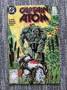Captain Atom #17 (DC 1987) Copper Age - 2nd Series - Swamp Thing Appearance