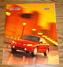 Original 1998 Ford Escort Sales Brochure 98 Sedan Wagon ZX2