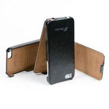 Fundas con tapa transparente de color principal negro para teléfonos móviles y PDAs