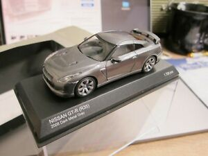 Kyosho - Scale 1/43 - NISSAN GT-R - 2008 R35 - Dark Metal Gray - Mini Car - D8