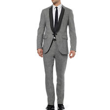 Wool Blend Single Breasted Suits for Men