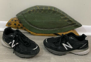 New Balance 990V4 Black Sneaker Men's Size 8.5  4E (Made In USA) No Insoles