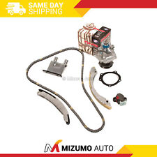 Timing Chain Kit w/o Gears Water Pump Fit 02-07 Chevrolet GMC Isuzu 2.8 3.5 4.2