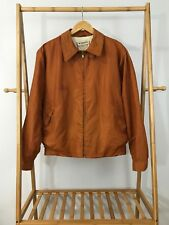 VTG McGregor Men's Nylon Anti-Freeze Washable Full Zip Jacket Sz 42 USA RARE