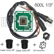 "600TVL CCTV Color Camera Board 1/3"" CMOS with Infared + 3.6mm & 6.0mm Lens B603"