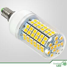 Bombilla E14 Mazorca LED 96 SMD 5050 Blanco Cálido 220~250V AC - Consumo 14W