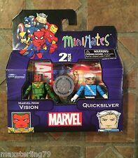 Marvel Minimates MARVEL NOW VISION & QUICKSILVER TRU Wave 19 Exclusive Avengers
