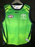 AFL ADELAIDE CROWS GREEN TRAINING JUMPER JERSEY GUERNSEY 2XL