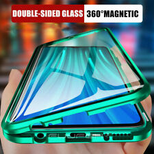360° FRONT + BACK GLASS Magnetic Phone Metal Case For Samsung Galaxy A51 A71