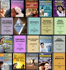 Vol. 1 - x20 Self Help / Self Improvement ebooks in Kindle and PDF format on CD