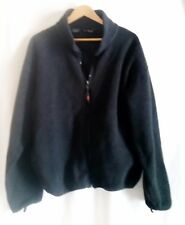 Sierra Sport Mens Polar Fleece Jacket XL Charcoal full zipper