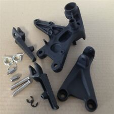 Black Front Rider Foot Peg Brackets Fit For Honda Cbr1000Rr 2008 2009 2010 2011