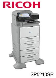 Ricoh Aficio SP5210SR Multifunction Printer (B/W)