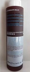 KORRES  AFTERSHAVE  BALM MARIGOLD Calendula & GINSENG Non-greasy 200ml