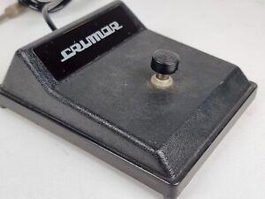 Vintage Crumar Keyboard Single Foot Pedal
