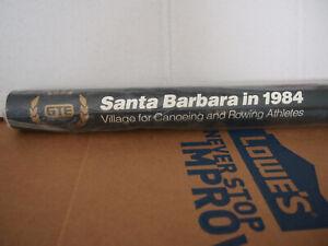 Vintage Olympic Poster Los Angeles 1984 Santa Barbara Canoe and Rowing