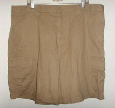Men's size 40 khaki beige cargo shorts (Croft & Barrow)