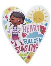 "Disney Doc McStuffins ""Heart Full of Sunshine"" Metal Sign/Wall Decor Hanging"