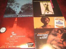 LOU DONALDSON LOU TAKES OFF CLASSIC RECORDS 45 RPM 180G 4 AUDIOPHILE SET+BONUSES