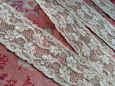 """1.5"""" French Antique Lace Valenncia Val Trim 1 yard +22"""" floral yellow"""