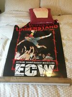ECW One Night Stand ultra rare promotional signed poster