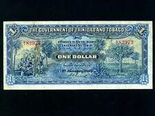 Trinidad & Tobago:P-3,1$,1929 * Landing of Columbus * VF * RARE *