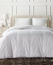 Charter Club European White Down Medium Weight King Comforter $480 L