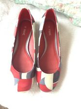 Damas Bailarina Zapatos Talla 4 de nuevo a continuación.