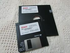 Pfaff 7550/1475 PC Designer Software ORIGINAL REPLACEMENT DISK FOR IBM ONLY 1.2